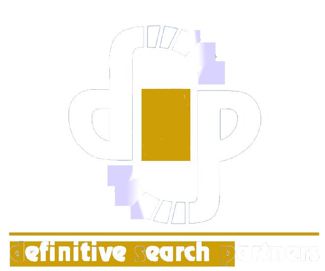 Definitive Search Partners Logo White 1