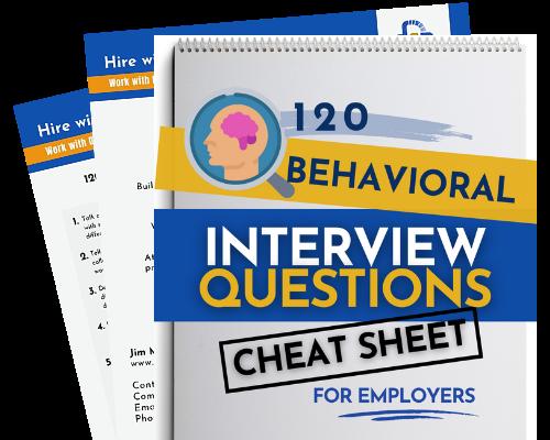 Behavioral Interview Cheat Sheet Fanned