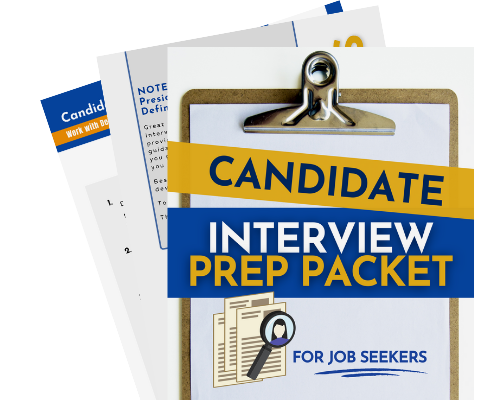 Candidate Interview Prep Packet Fanned