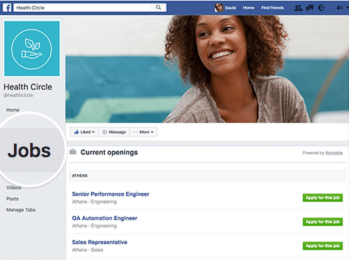 Facebook Jobs Sourcing Hard to Find Talent