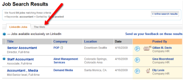 Job Search Results Sourcing Hard to Find Talent