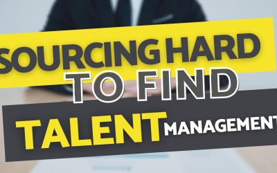 Sourcing Management Positions – Hard to Find Candidates – Ch. 5